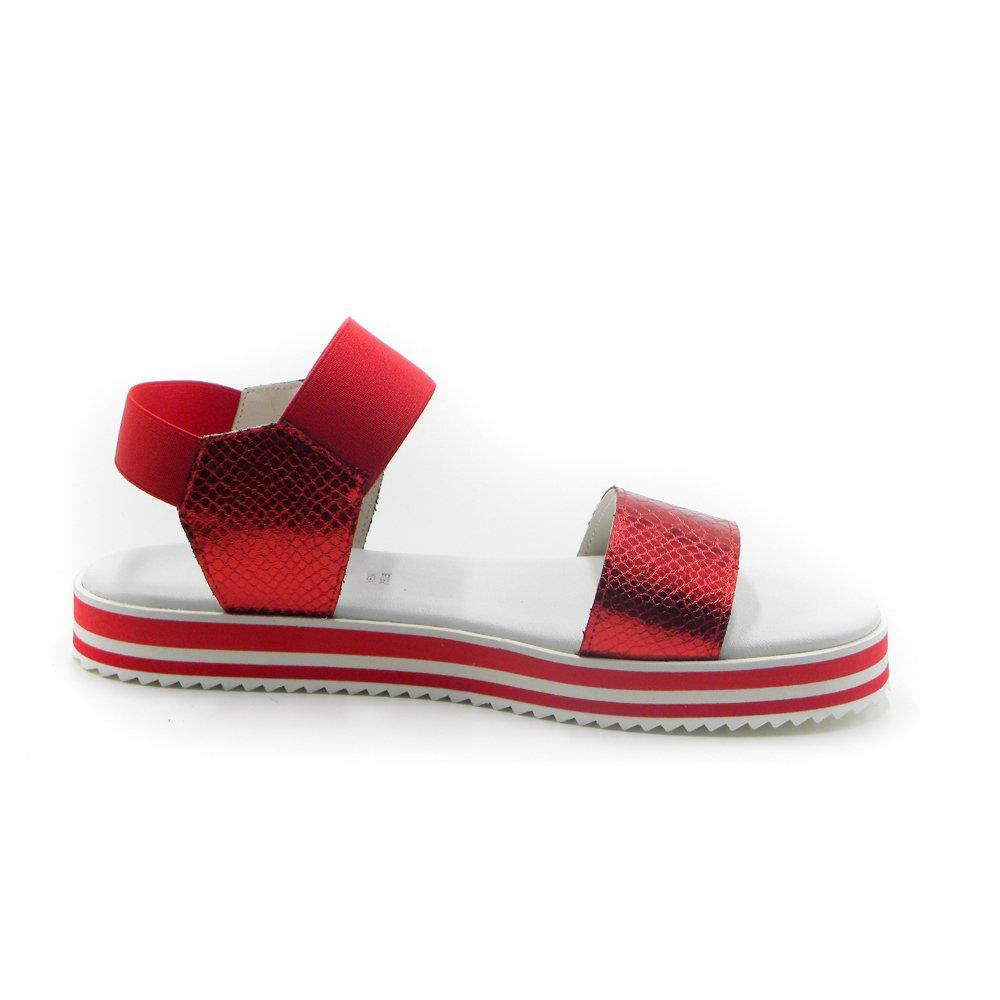 Maemi sandalo SPORTIVO con Elastico – Pitone Rosso