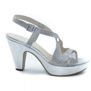 Sandalo alto design incrociato