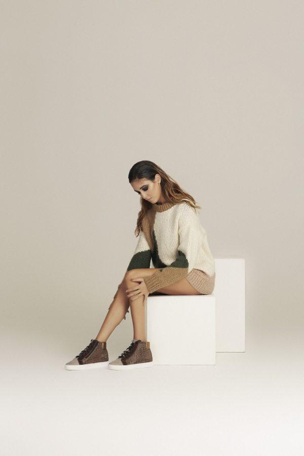 Sneakers da donna per numeri grandi e piccoli